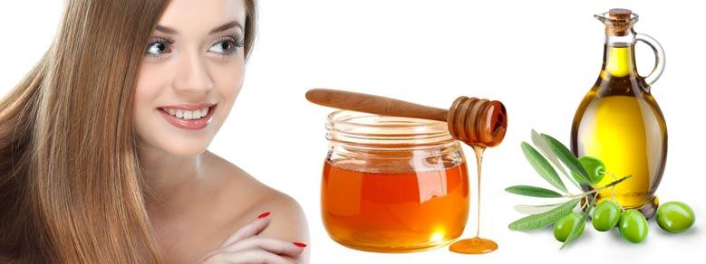 маска для сухих волос с оливковым маслом и медом эффект