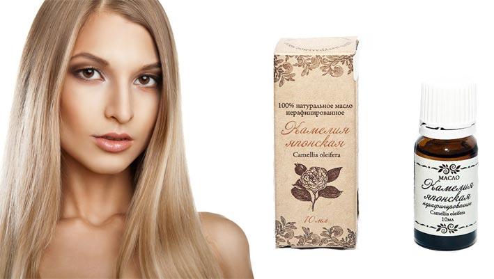 Маска для волос с маслом камелии рецепты