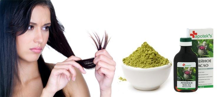 маска для кончиков волос отзывы репейное масло хна