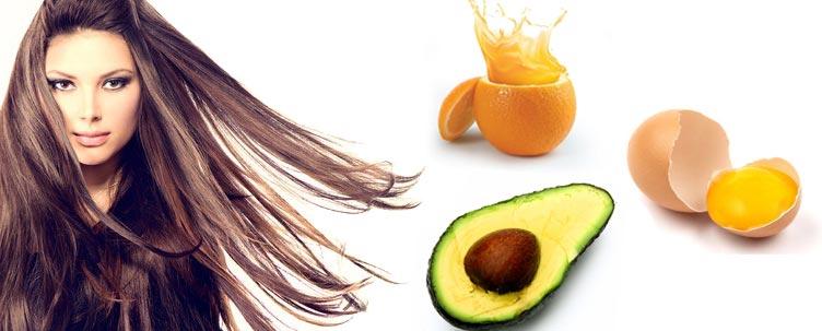 натуральные маски для блеска волос авокадо яйцо