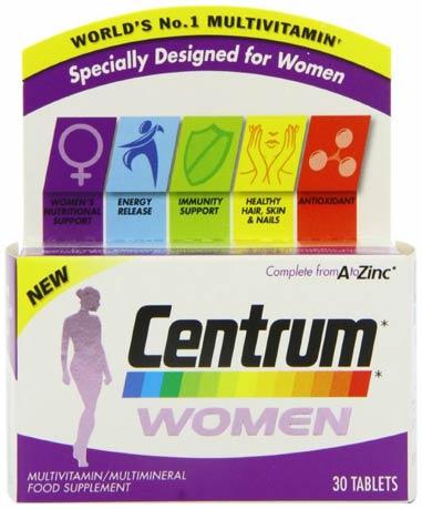 Центрум для волос витамин