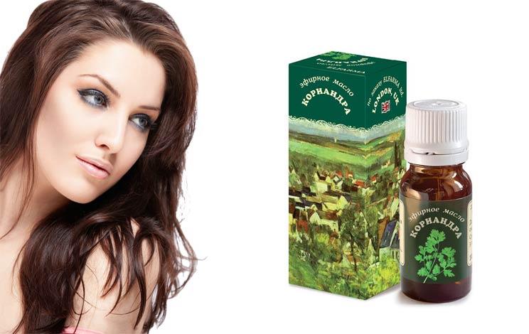 Эфирное масло кориандра для волос применение свойства