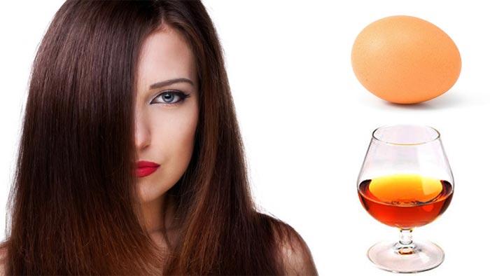 гладкость волос маска с коньяком и яйцом рецепт