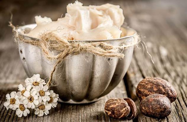 Масло Карите ши для поврежденных волос
