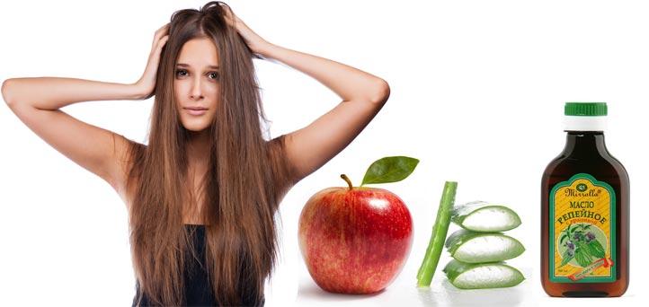 Маска для тусклых волос репейное масло алоэ яблоко рецепт