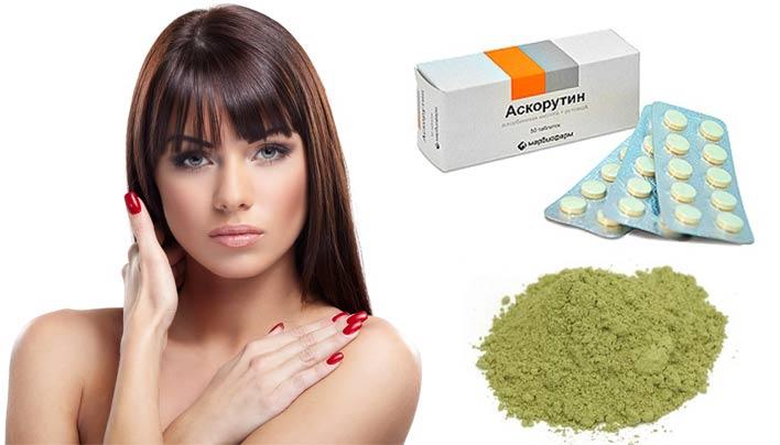 маска от выпадения волос с витаминами в домашних условиях аскорутином