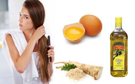 Маски от выпадения волос на голове у женщин в домашних условиях