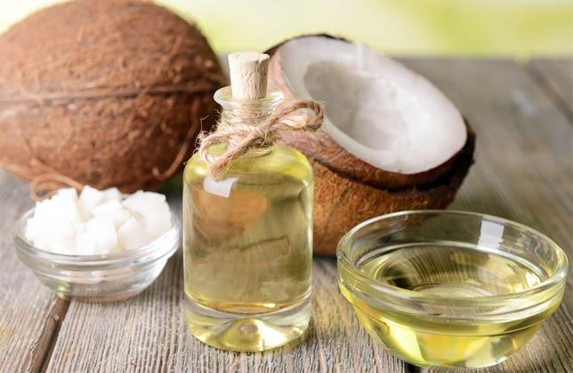 Кокосовое масло для поврежденных волос