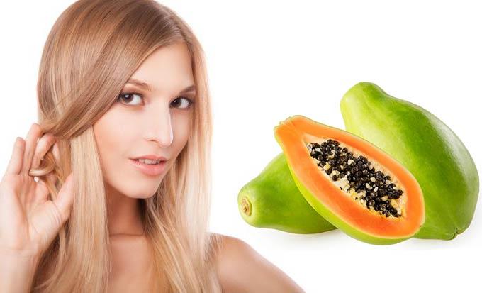 Маски с папайей для волос применение