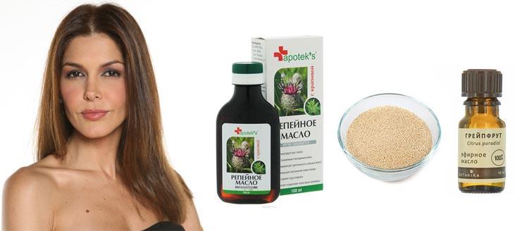 Репейная маска для волос в домашних условиях рецепт дрожии