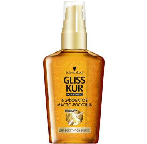 Schwarzkopf professional gliss kur oil применение