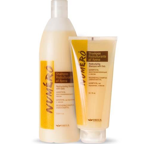 Brelil Numero шампунь для поврежденных волос рейтинг
