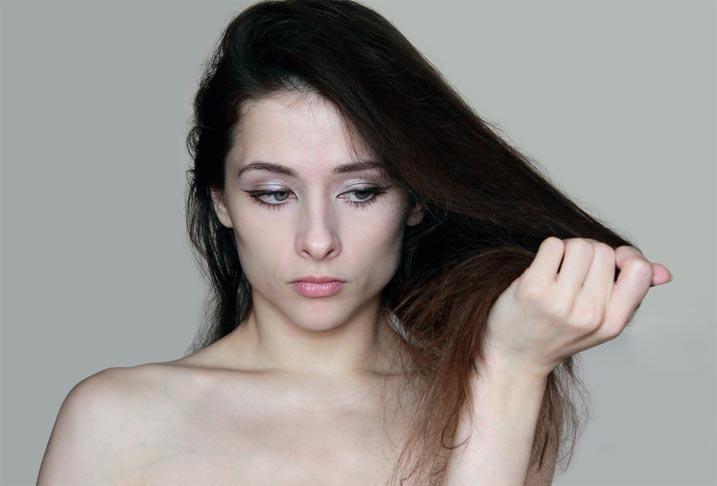 Как восстановить ломкие тусклые волосы маска