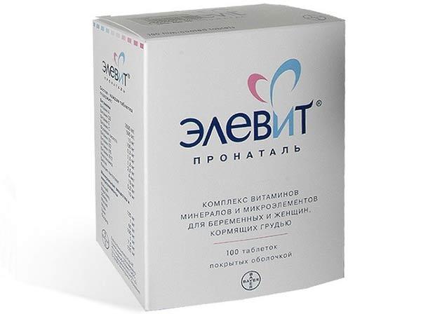 Элевит витаминный комплекс против выпадения волос