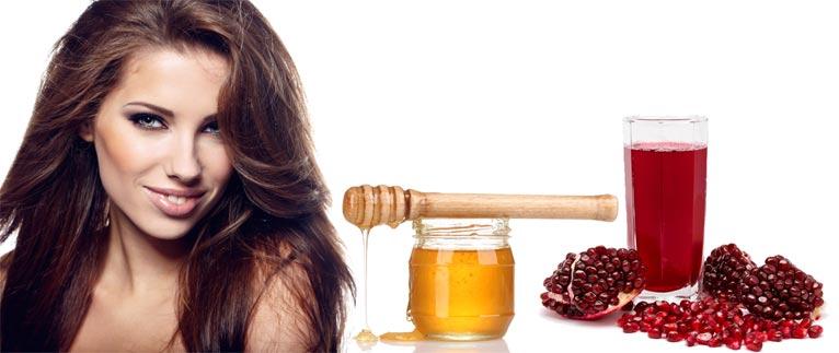Маска для волос с соком граната и медом рецепт