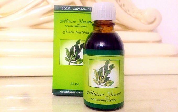Масло листьев усьмы для волос рецепты масок