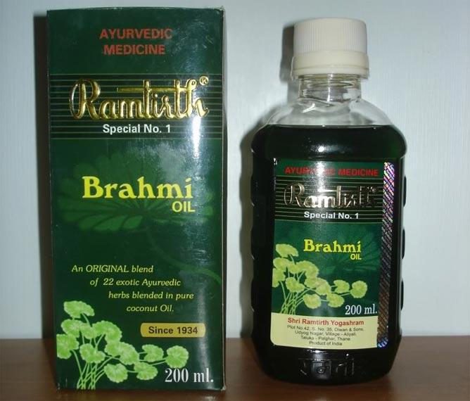 Brahmi oil использовать для волос