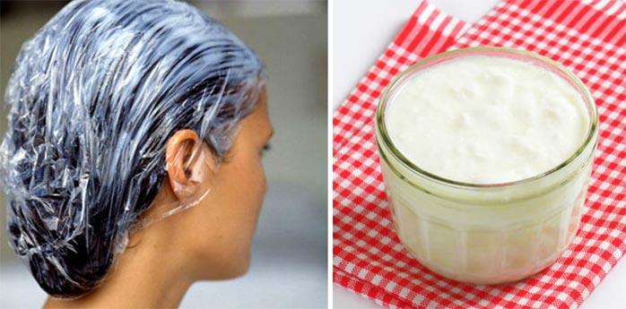 маска для волос из простокваши рецепт