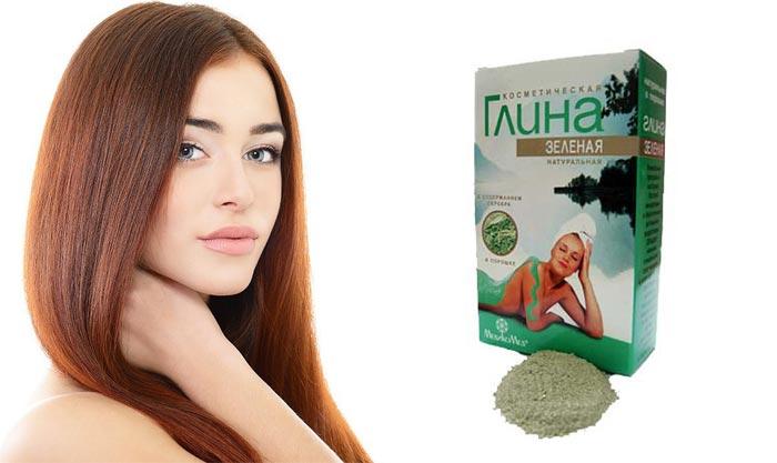маски для волос с зеленой глиной в домашних условиях