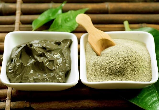 маска из зеленой глины рецепты