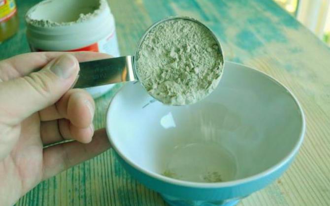 зеленая глина для волос как применять