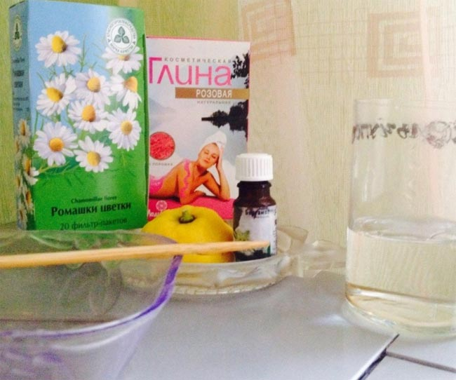 розовая глина для волос рецепты масок