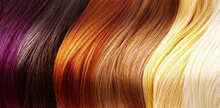 цвета окрашенных волос