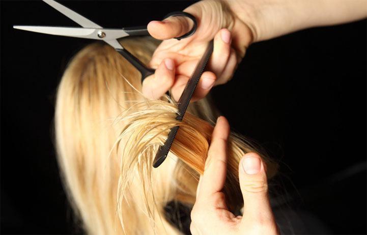 кончики волосы