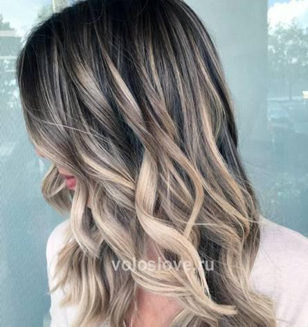 Красим волосы красиво - балаяж