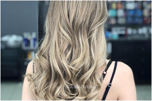 Двойное окрашивание - блонд