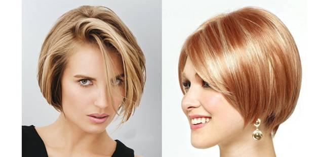 Подстричься средние волосы