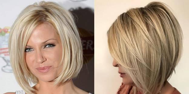 Красивые стрижки блондинок