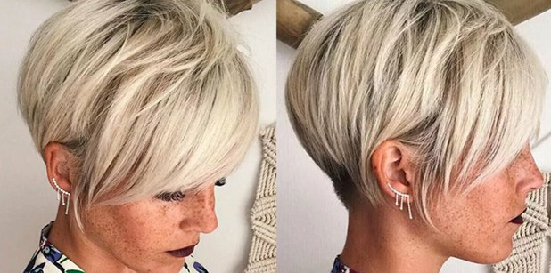 Короткие стрижки на короткие волосы